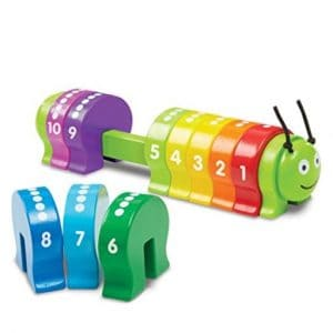 Save 35% on the Melissa & Doug Counting Caterpillar, Free Shipping Eligible!