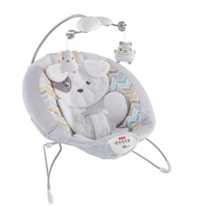 Save 48% on the Fisher-Price My Little Snugapuppy Deluxe Bouncer, Free Shipping Eligible!