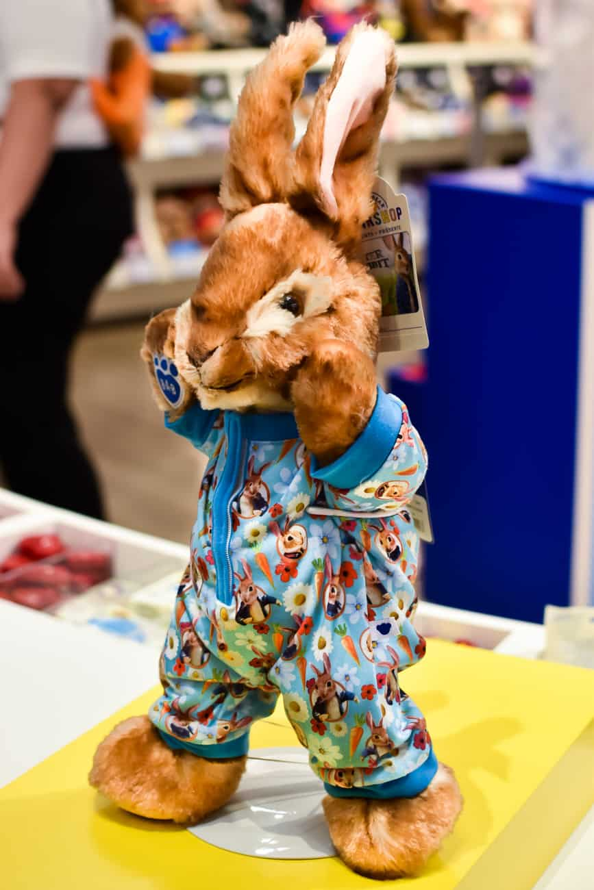 Peter rabbit at Build a Bear Workshop Pajamas
