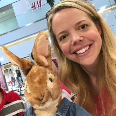 Peter Rabbit at Build-a-Bear workshop