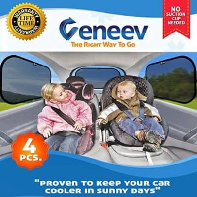 Save 49% on the Car Sun Shade for Side and Rear Window (4 Pack), Free Shipping Eligible!