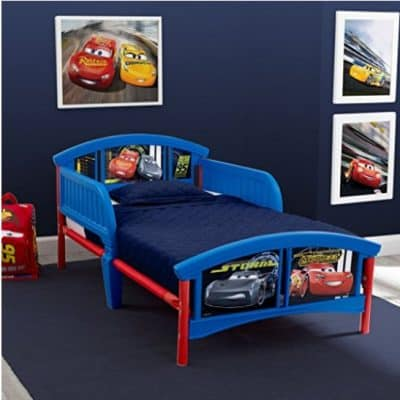 Save 50% on the Delta Children Plastic Toddler Bed, Disney/Pixar Cars, Free Shipping