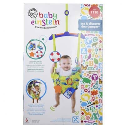 Save 47% on the Baby Einstein Sea and Discover Door Jumper, Free Shipping Eligible!