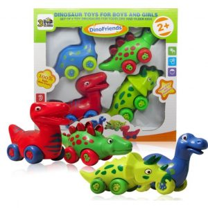 Save 40% on the Set of 4 Toy Dinosaur Toys, Free Shipping Eligible!