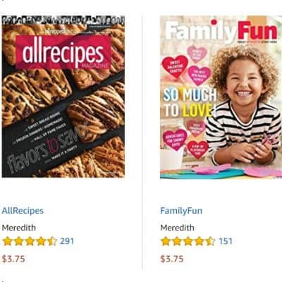 Best-Selling Print Magazines from $3.75, Free Shipping Eligible!