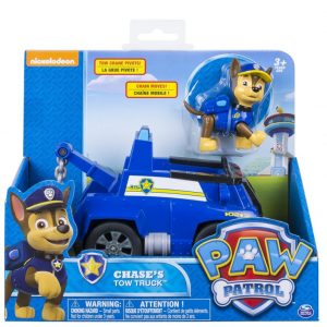 Save 43% on the Paw Patrol – Chase's Tow Truck – Figure and Vehicle, Free Shipping Eligible!