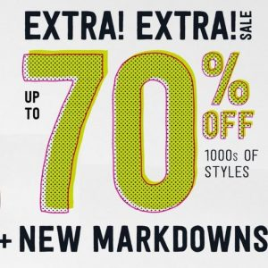 Crazy8 Online Sale: Up to 70% off the Entire Store + Extra 15% off + Free Shipping!