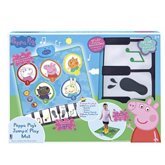 Save 55 On The Peppa Pig Jump N Play Mat Free Shipping