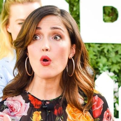 Rose Byrne at peter rabbit press conference