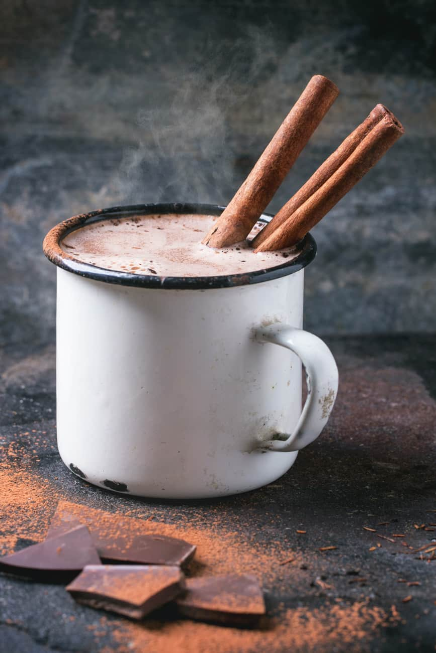 spicy mexican hot chocolate recipe with cocoa