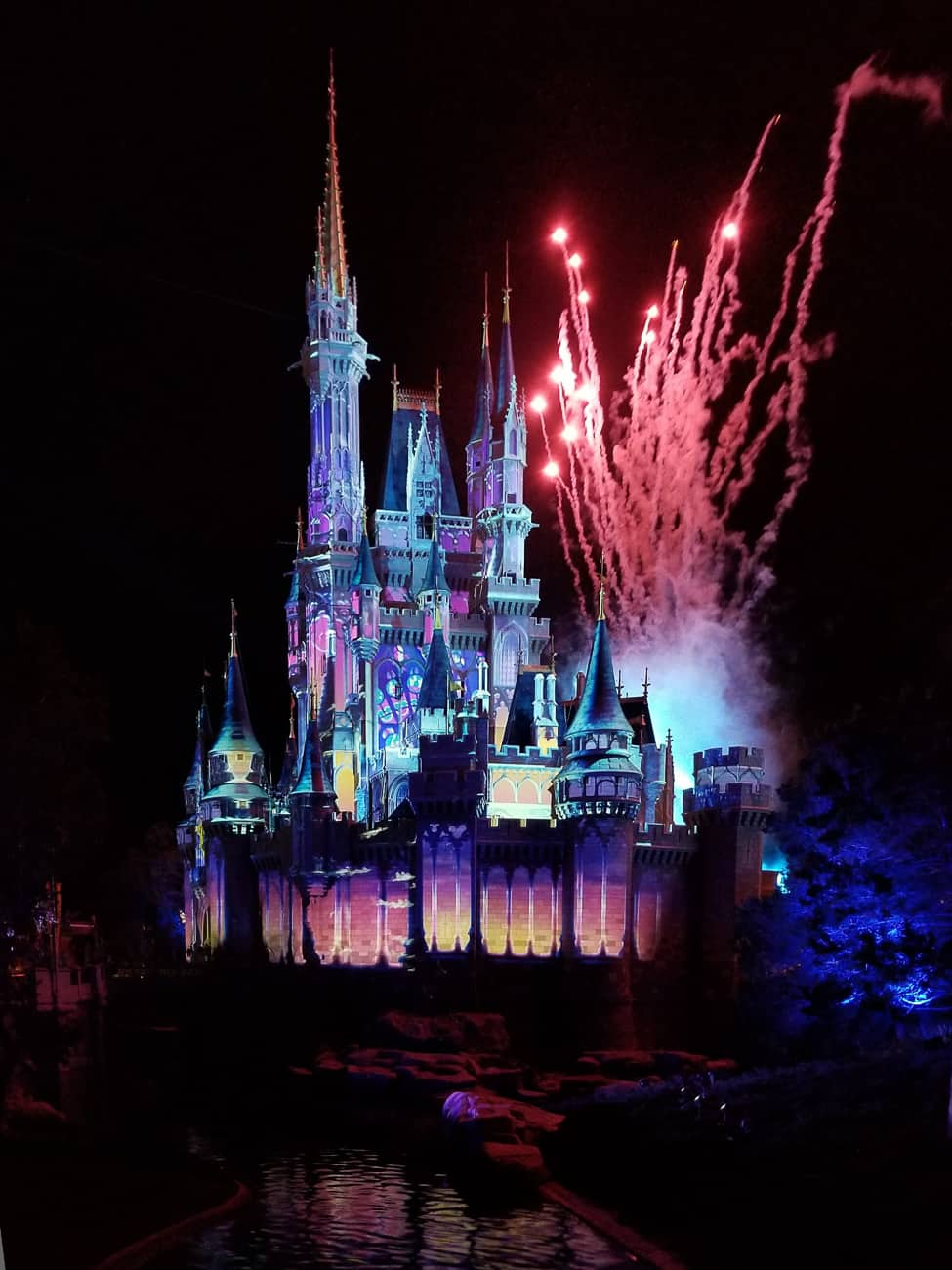 how to take better disney world pictures at night