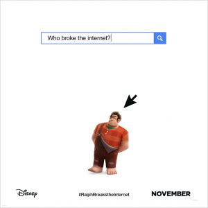 RALPH BREAKS THE INTERNET: WRECK-IT RALPH 2 The new Trailer and Poster!