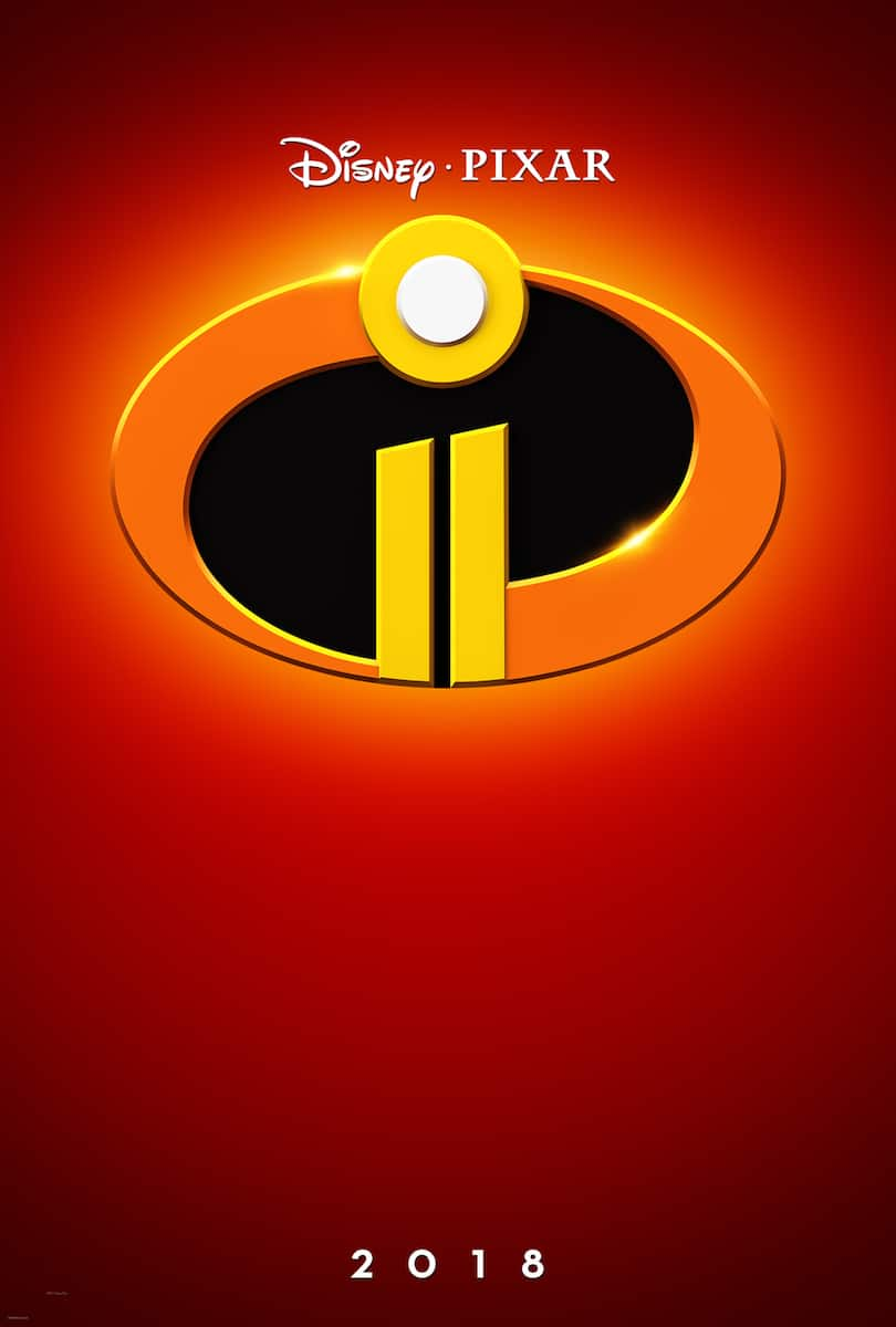 Incredibles 2 movie poster with logo