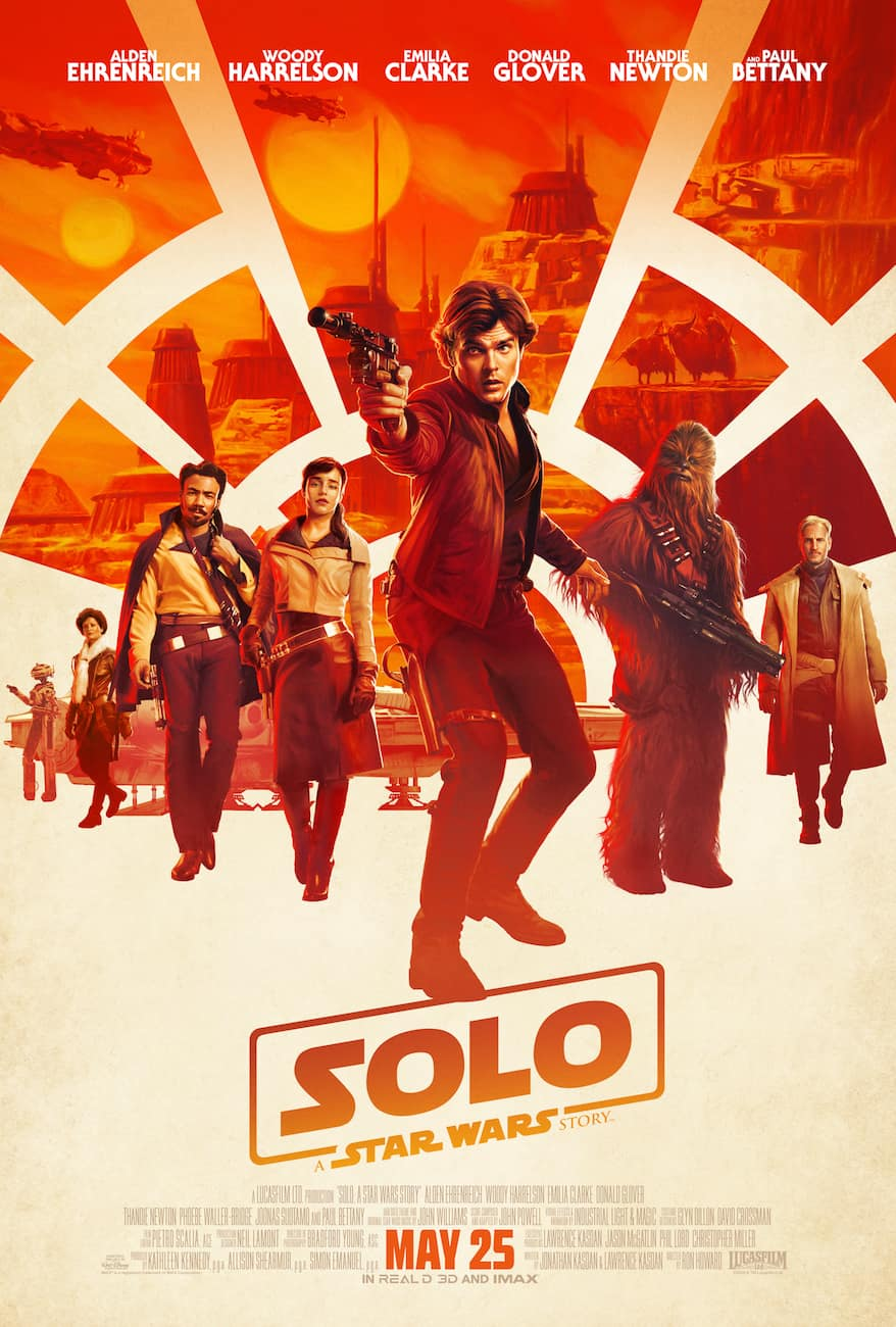 Star Wars Solo: A Star Wars Story movie poster