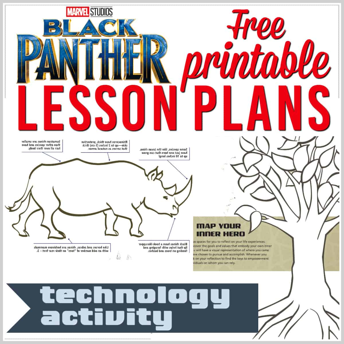 Black Panther lesson plans