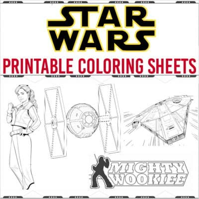 Star Wars Coloring Pages and Activity Sheets for SOLO: A STAR WARS STORY #HanSolo