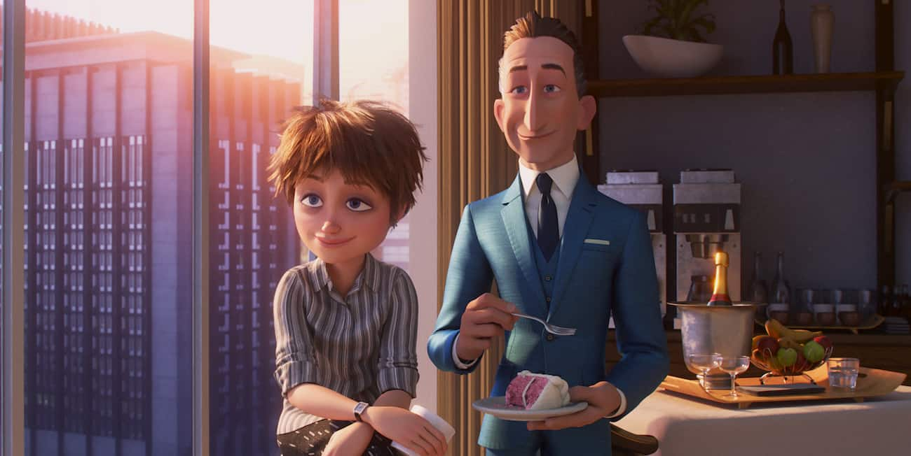 Incredibles 2 Evelyn Deavor and Winston Deavor