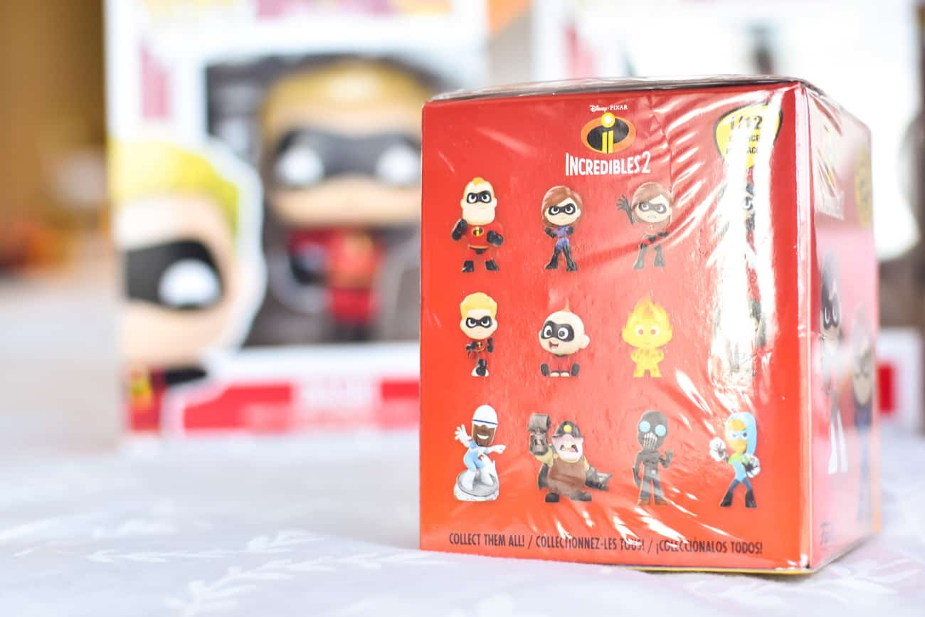 Incredibles 2 merchandise Funko Mystery Mini