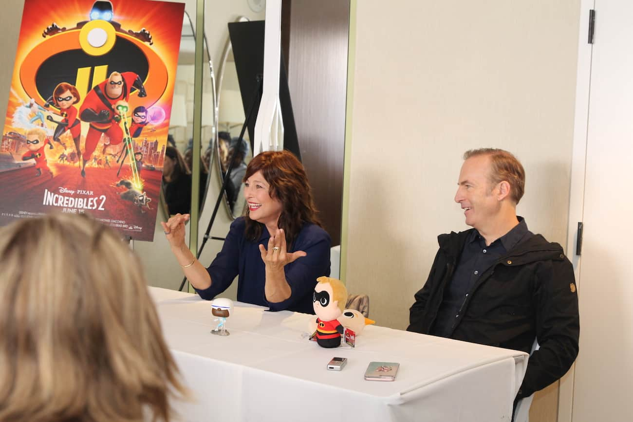 Incredibles 2 Catherine Keener Bob Odenkirk