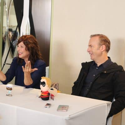 Catherine Keener and Bob Odenkirk on the Endeavors of Incredibles 2 #Incredibles2Event #DisneyPartner