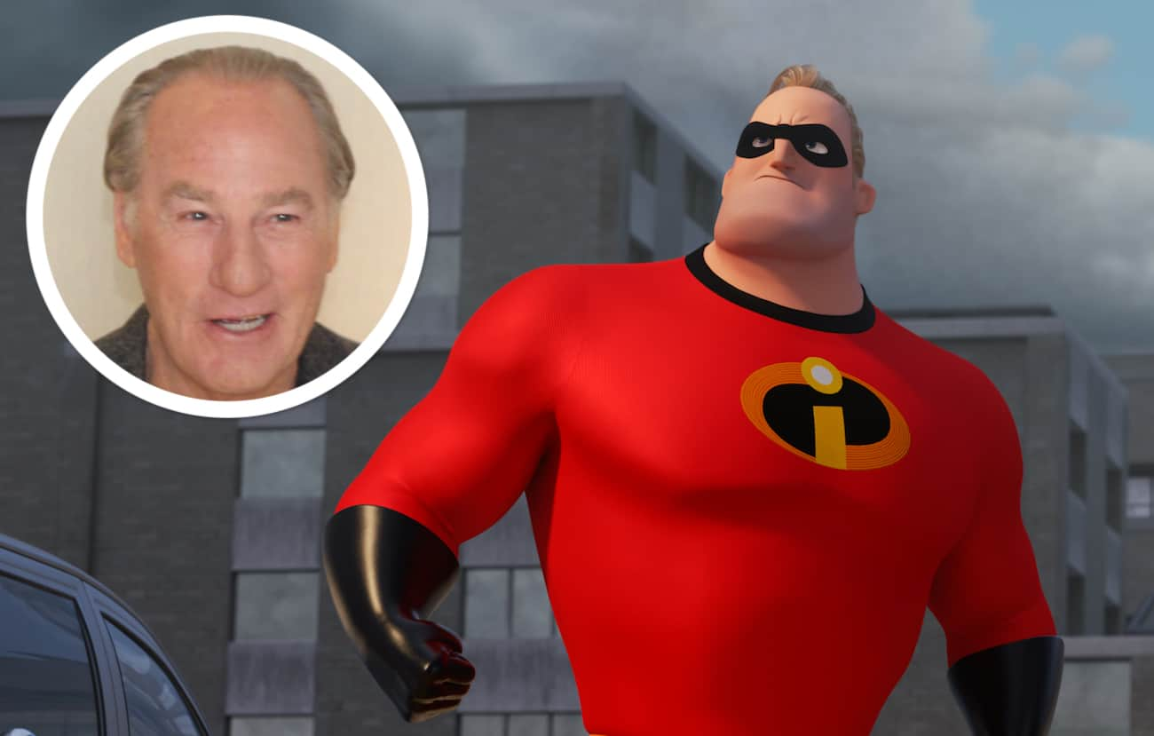 Craig T Nelson mr Incredible