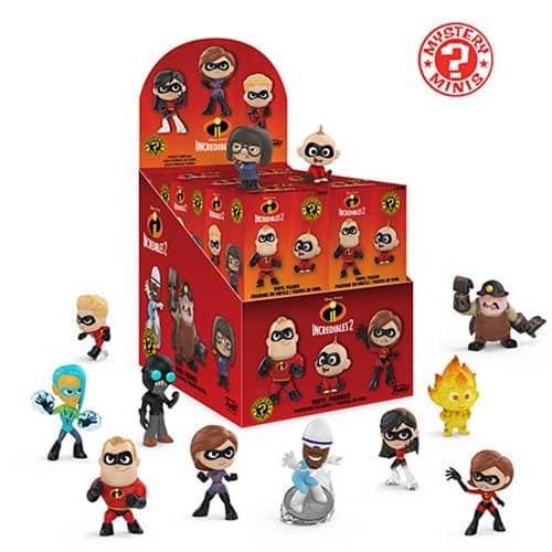 Incredibles 2 merchandise Funko Mystery Mini collection