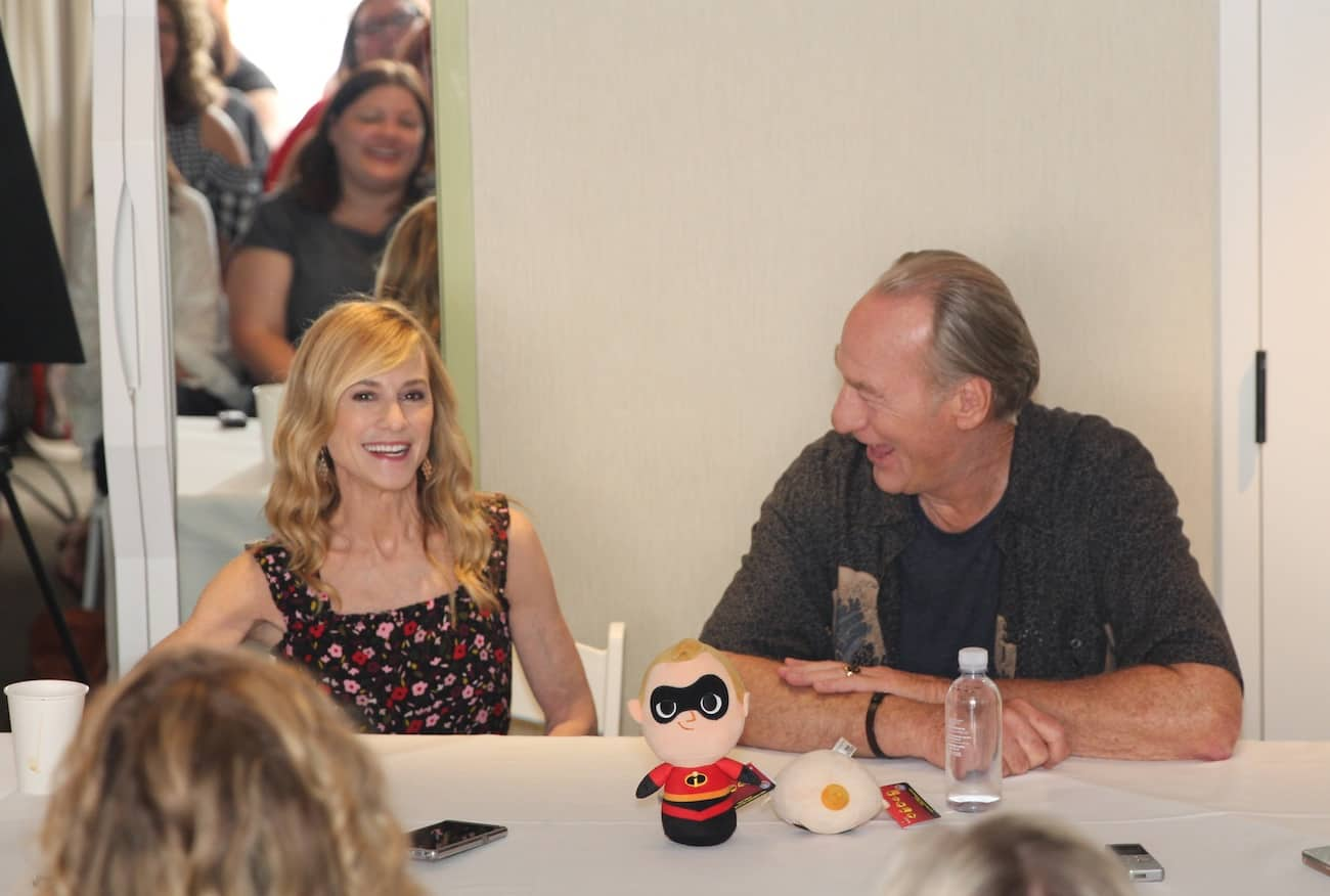 Incredibles 2 Holly Hunter Craig T Nelson Interview