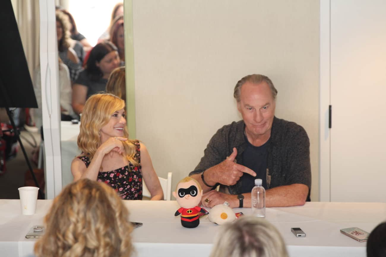 Holly Hunter Craig T Nelson Incredibles 2 bloggers