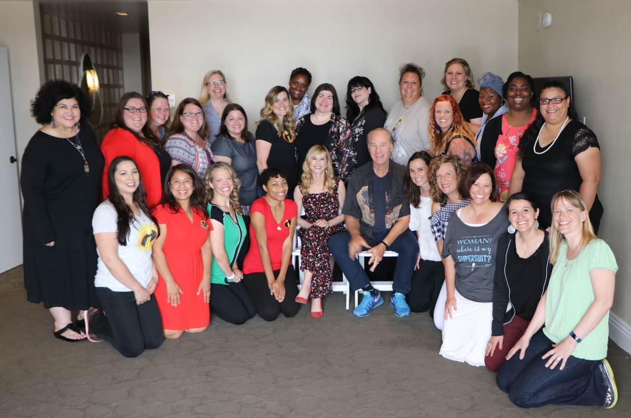 Incredibles 2 Holly Hunter Craig T Nelson Interview bloggers