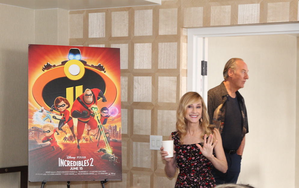 Holly Hunter Craig T Nelson Interview Incredibles 2