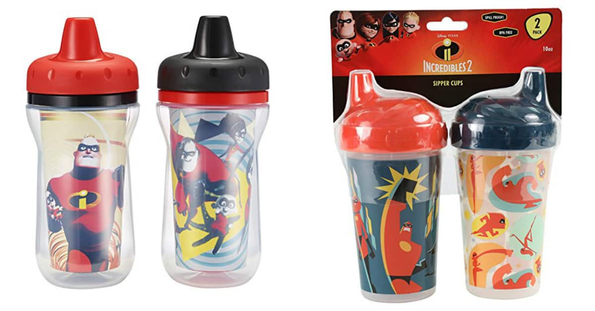 Incredibles sippy cups