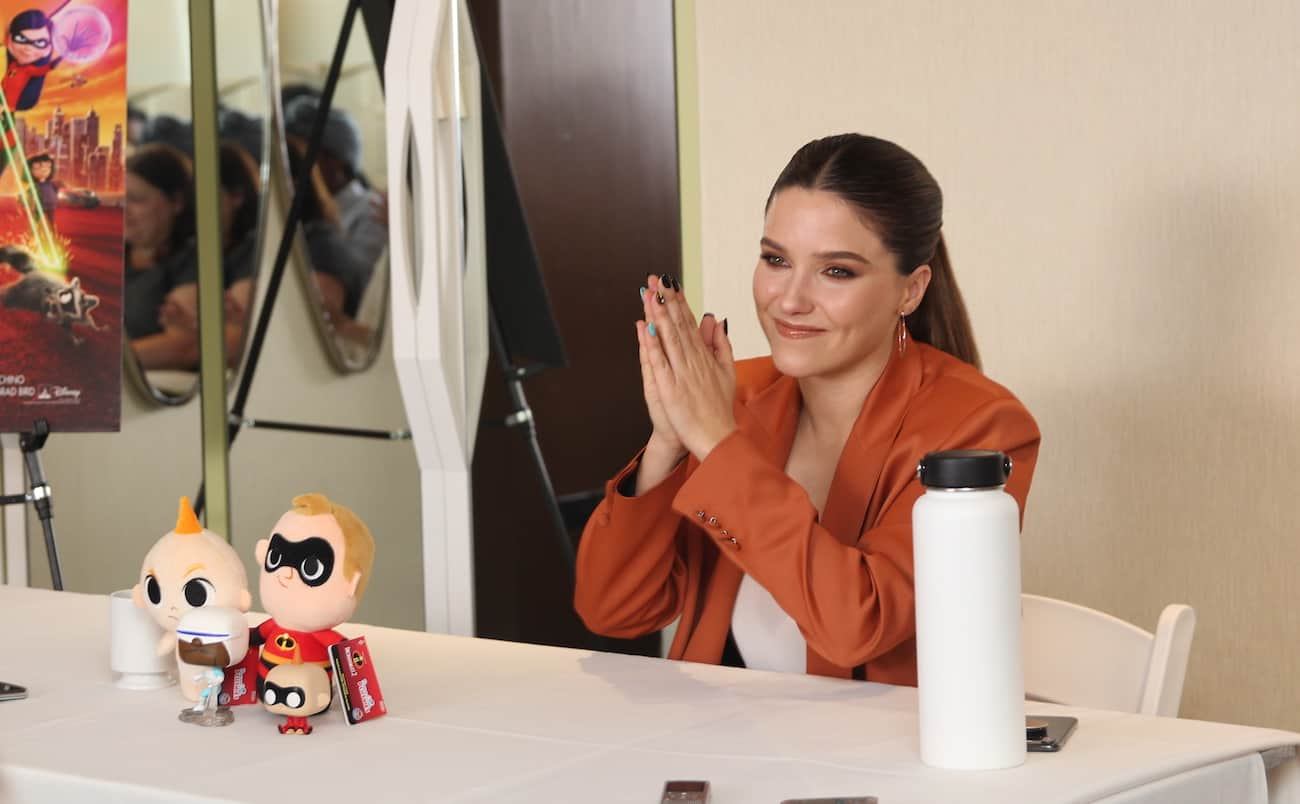 sophia bush Incredibles 2 void
