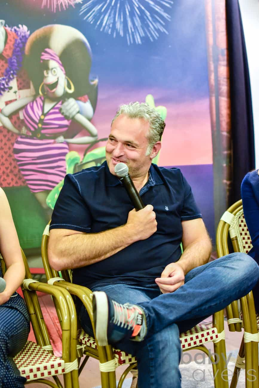 Hotel Transylvania 3 press conference Genndy Tartakovsky