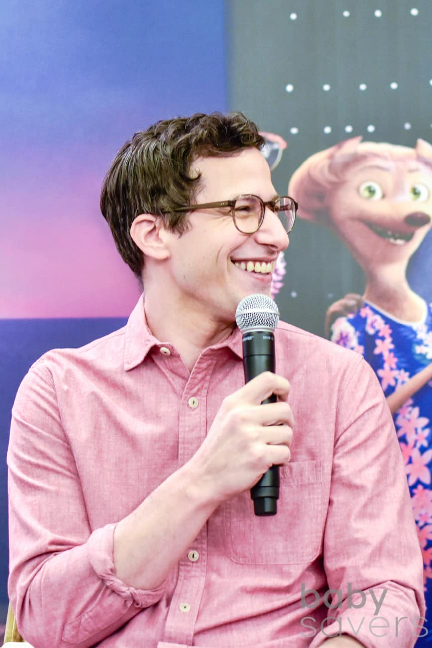 Hotel Transylvania 3 quotes press conference andy samberg