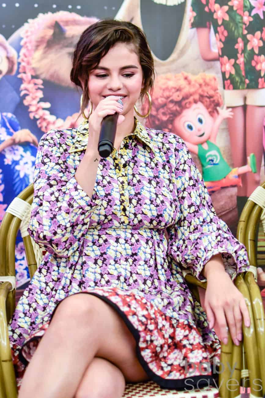 Hotel Transylvania 3 quotes from press conferrence selena gomez