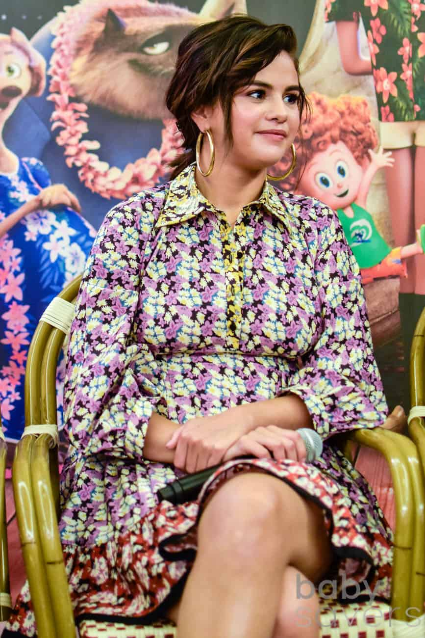 Hotel Transylvania 3 quotes Selena Gomez press conference