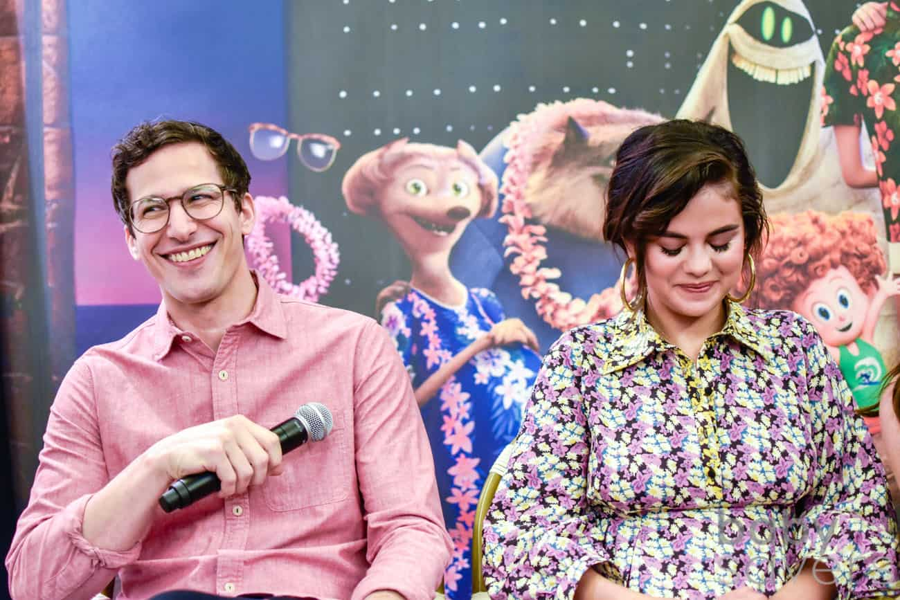 Hotel Transylvania 3 quotes press conference Andy Samberg Selena Gomez