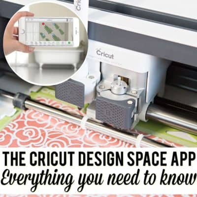 The Cricut Design Space App is the Craftiest way to Use My Phone