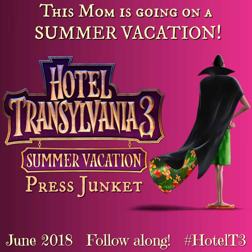 Hotel Transylvania 3 press junket