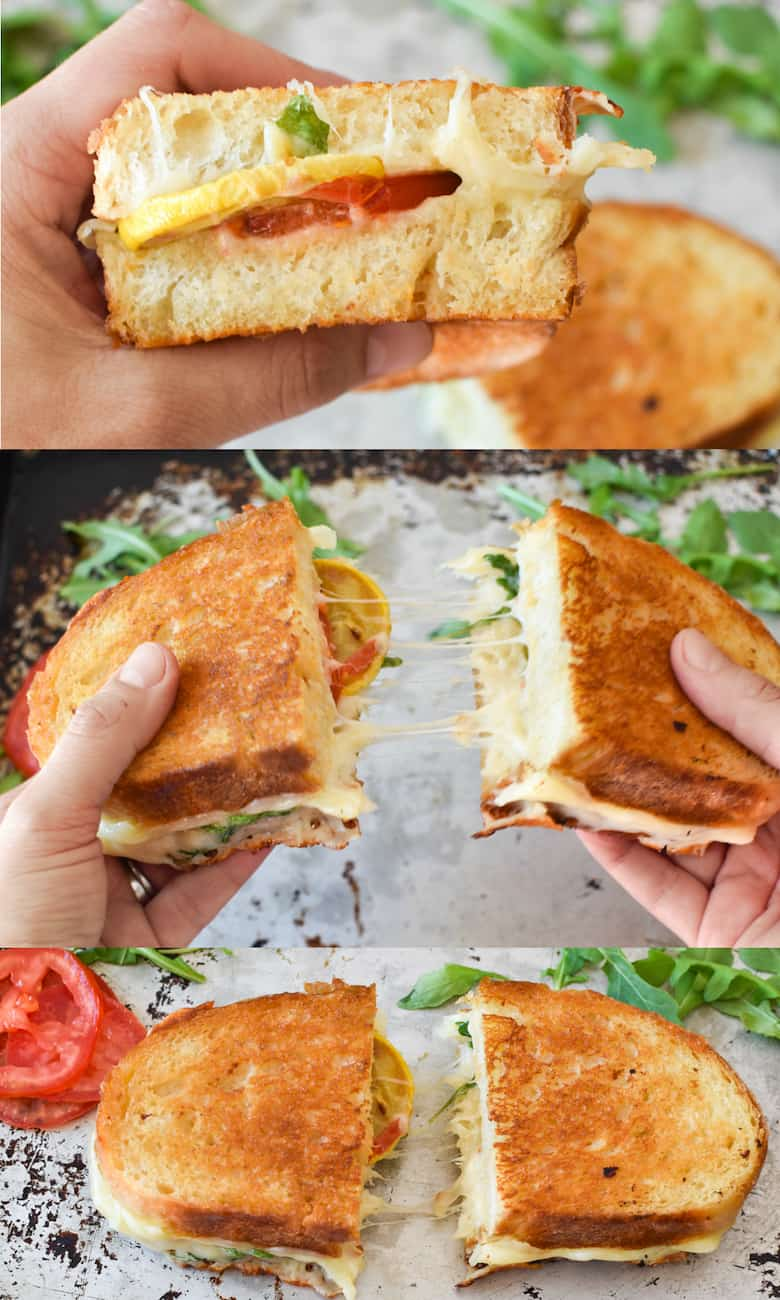 Easy zucchini grilled cheese recipe