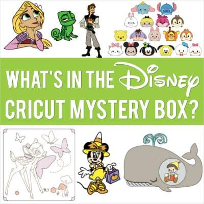 The Cricut Disney Mystery Box Revealed! Everything Included in the Digital Bundle