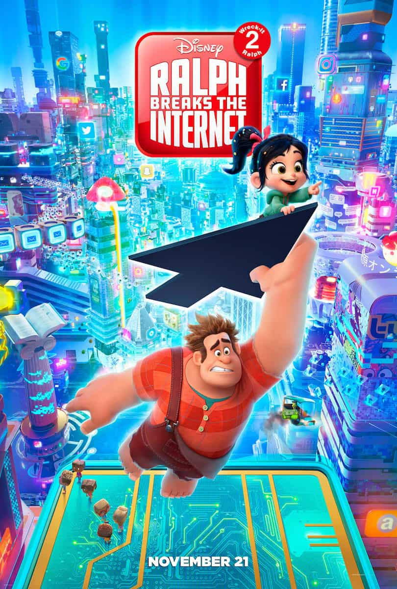 Wreck it Ralph 2 Ralph Breaks the Internet poster