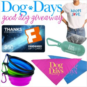 Dog Days Movie + Good Dog Giveaway with a $50 Fandango Gift Card!
