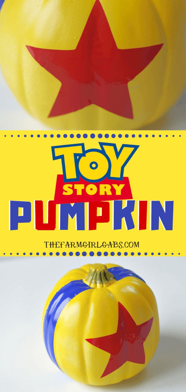 painting pumpkin ideas Disney Toy Story
