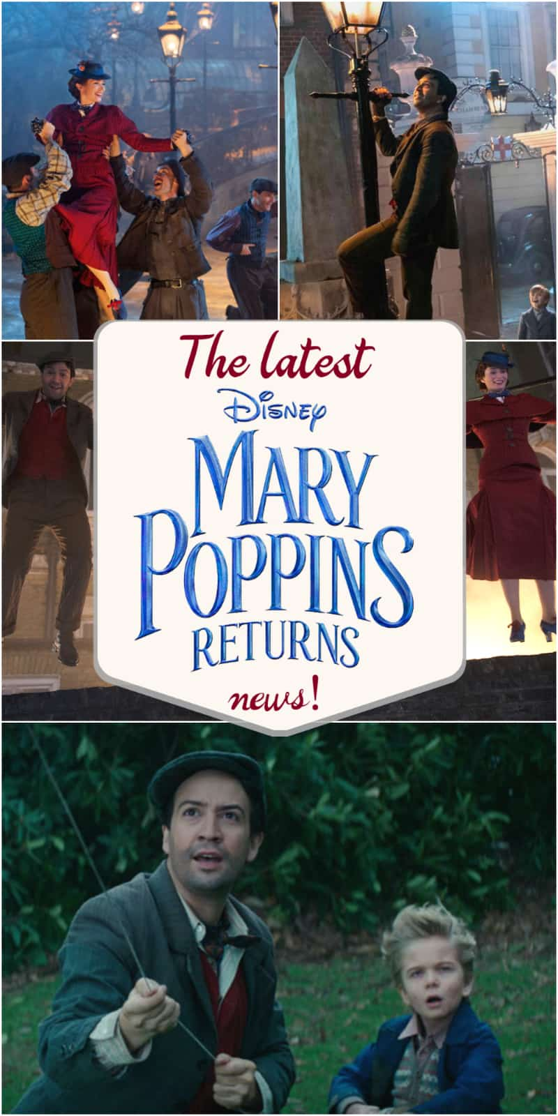 Mary Poppins Returns news and all new photos from the movie!
