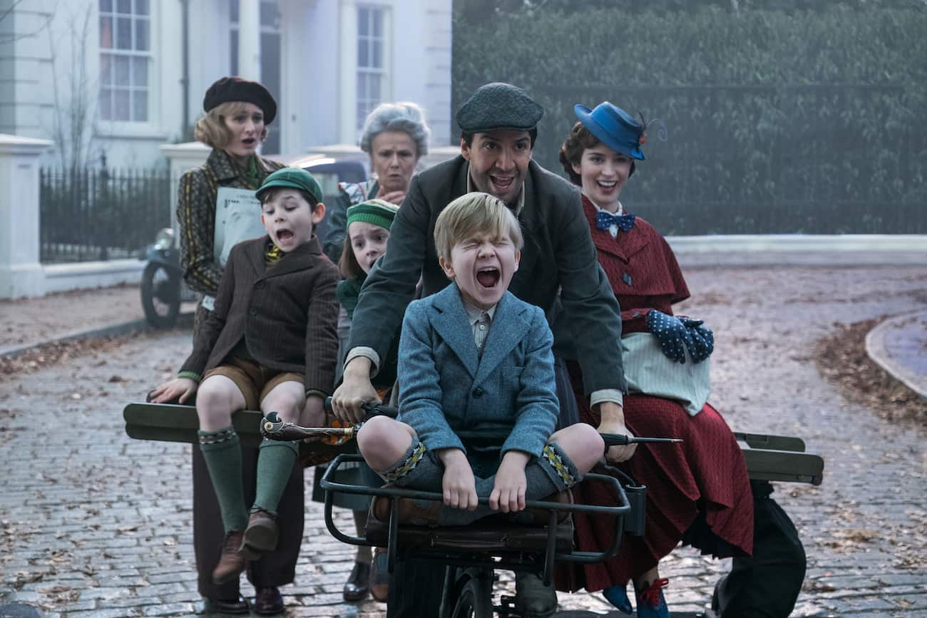 kids in Mary Poppins Returns