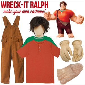 DIY Wreck-It Ralph Costume for Halloween