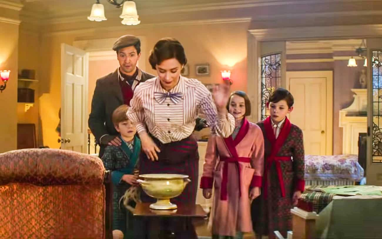 Mary Poppins Returns trailer pictures