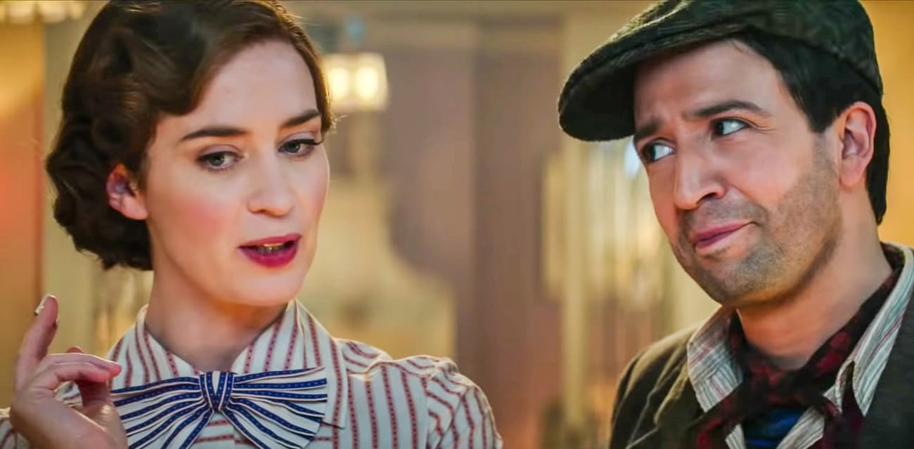 Mary Poppins Returns trailer Lin-Manuel Miranda
