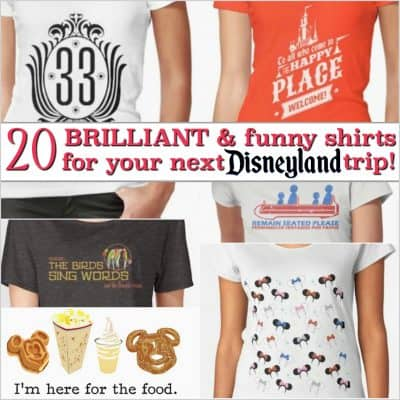 Disneyland Shirts: 20 Unique and Funny Tees for the Happiest Place on Earth